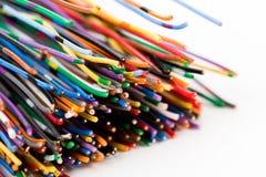 färgrik kabel royaltyfria bilder