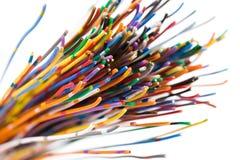 färgrik kabel royaltyfri bild