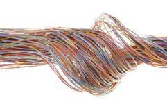 Färgrik kabel arkivfoton