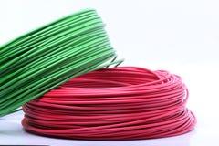färgrik kabel arkivfoto