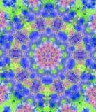 färgrik kaleidoscope royaltyfri illustrationer