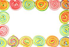 färgrik kant Royaltyfria Foton