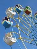 färgrik karusell Royaltyfria Bilder