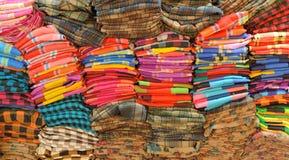 Färgrik kläder Arkivbilder