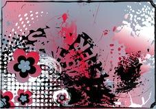 färgrik konstnärlig bakgrund Arkivfoton