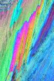 färgrik kristallis Arkivfoton