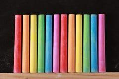 färgrik krita royaltyfri fotografi