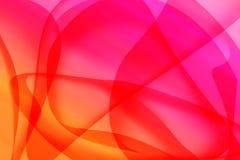 Färgrik kurvlinje bakgrund Royaltyfri Fotografi