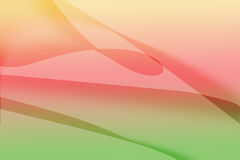 Färgrik kurvlinje bakgrund Royaltyfri Bild