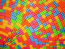 Färgrik kvarterleksak Arkivfoton