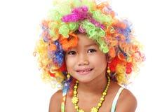 färgrik löshår Royaltyfri Fotografi