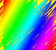 färgrik lampa för abstrakt bakgrund royaltyfri illustrationer