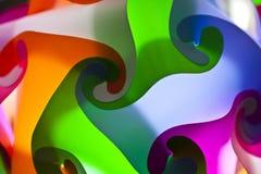 färgrik lampa för konst Royaltyfri Fotografi
