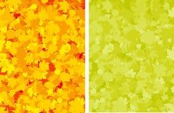 färgrik leaveslönn för höst royaltyfri illustrationer