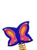 färgrik lekplats s för fjäril arkivfoto