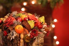 färgrik livstid för jul fortfarande Arkivbilder