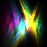 Färgrik ljus illustration för tappning Arkivfoto