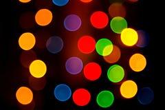 Färgrik ljus reflexionsbakgrund Arkivfoto
