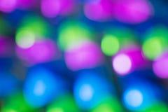 Färgrik ljus textur för bokehbakgrundsabstrakt begrepp med oskarpa viktig arkivbilder