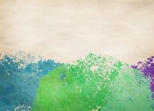 Färgrik ljus vattenfärgbakgrund stock illustrationer