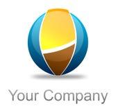 färgrik logo Arkivbild