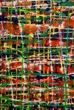färgrik målning Arkivbild