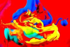 Färgrik målning Royaltyfri Foto