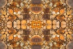 Färgrik mönstrad yttersida av trät Arkivbild