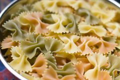 färgrik macaroni 3 Royaltyfria Bilder