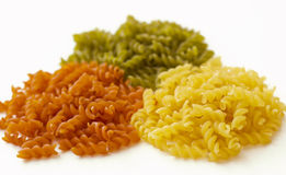 färgrik macaroni Arkivbilder