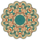 färgrik mandala Royaltyfri Foto