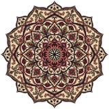 Färgrik mandala för tappning Royaltyfri Bild