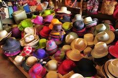 Färgrik marknad Madagaskar royaltyfria foton