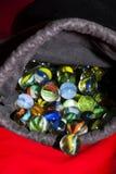 färgrik marmor för bollar Fotografering för Bildbyråer