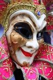 färgrik maskering traditionella venice Arkivfoto