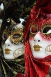 färgrik maskering traditionella venice Royaltyfri Bild