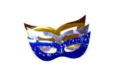 färgrik maskeringsdeltagare Royaltyfri Fotografi