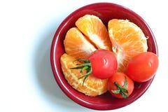 Färgrik maträtt Fotografering för Bildbyråer