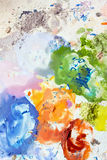 färgrik mix 2 arkivfoton