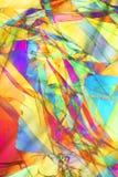 färgrik modell Fotografering för Bildbyråer