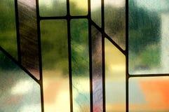 färgrik modell Arkivfoto