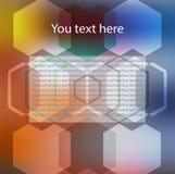 färgrik modell för abstrakt bakgrund Fotografering för Bildbyråer