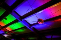 färgrik modell för tak Royaltyfria Foton