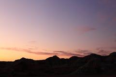 Ren sky Arkivbilder