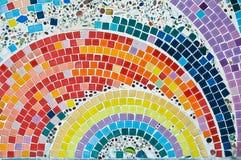 Färgrik mosaik Royaltyfri Bild