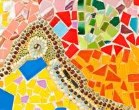 färgrik mosaik Fotografering för Bildbyråer
