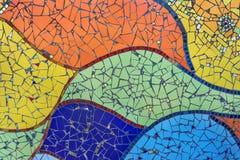 färgrik mosaik royaltyfri fotografi
