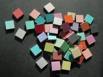 färgrik mosaik tiles2 arkivfoton