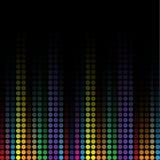 Färgrik mosaikbakgrund för Wave Royaltyfri Fotografi