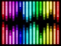 Färgrik musikvolym Royaltyfri Illustrationer